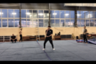 J step Swing training session
